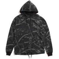 Division Open Bottom Pullover Hoody Black Realtree Camo