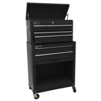 "24"""" Homeowners 8 Drawer Combo Tool Box - Black"