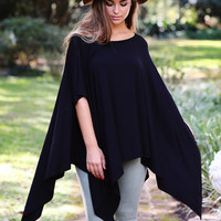 Infinite Bliss Poncho Top
