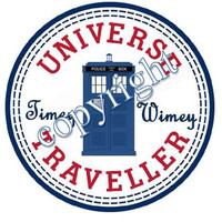 Doctor Who Timey Wimey with British by TimeyWimeySpacyWacey