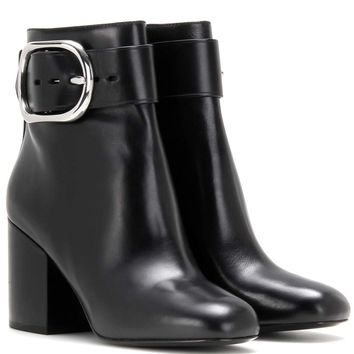 Kenze leather ankle boots