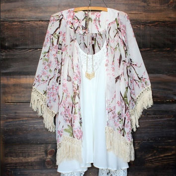 Sexy Women Vintage Boho Kaftan Cardigan Cover Up Dress Lace Kimono Beach Swimwear = 4904901380