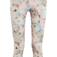 Live The Process - Floral-print stretch-jersey leggings