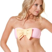 LOLLI BOW BANDEAU > Womens > Clothing > Swimwear | Swell.com