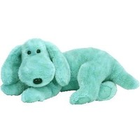 TY Beanie Buddy - DIDDLEY the Green Dog