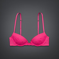 Lace Lightly Lined Demi Bra