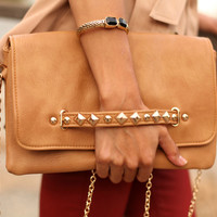 Amber Clutch (All Nude) - DulceCandyXO - Trendy and Affordable Style