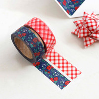 "Iconic 0.59""X11yd pattern washi masking tape set 06"