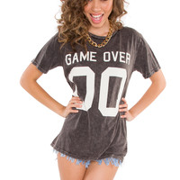 Game Over Top