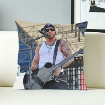 Brantley Gilbert Cool - Design Pillow Case with Black/White Color.