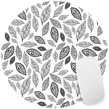 Leaves Mouse Pad Decal