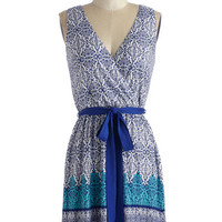 ModCloth Short Length Sleeveless A-line Eclectic Energy Dress