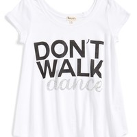 Girl's Ten Sixty Sherman 'Don't Walk, Dance' Graphic Tee,