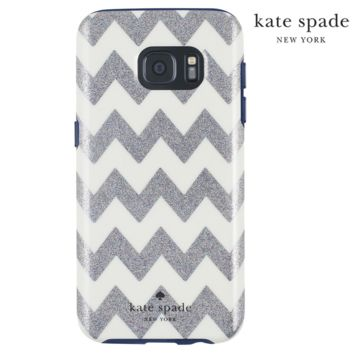 Samsung Galaxy S7 Kate Spade Navy Chevron Case