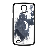Wolf Song 3 Black Hard Plastic Case for Galaxy S4 Active by Balazs Solti
