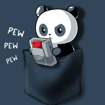 Pew Pew Pocket | Funny, cute & nerdy shirts