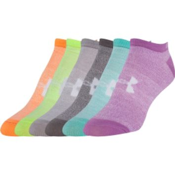 Under Armour Kids' No Show Liner Sock 6 Pack | DICK'S Sporting Goods