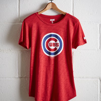 Tailgate Women's Chicago Cubs #FLYTHEW T-Shirt, Red