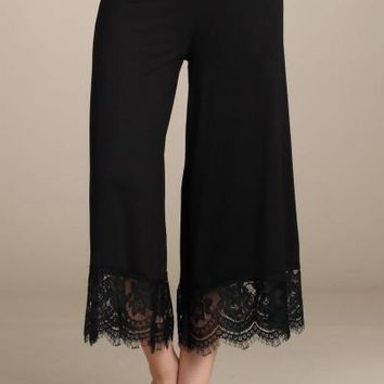 Black Laced Gauchos