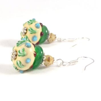 Artisan Lampwork Earrings