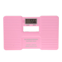 "High Accuracy Pink150 KG 330LB Portable Electronic Digital Bathroom Precision Body Health Weight Scale 2.1"" LCD Screen"