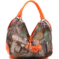 Realtree® Large Camouflage Hobo Bag