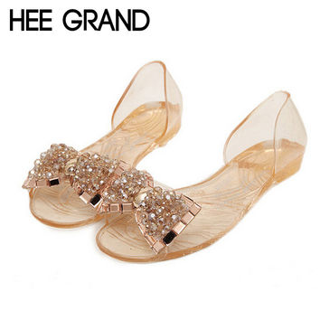 Bow Jelly  Summer Sandals