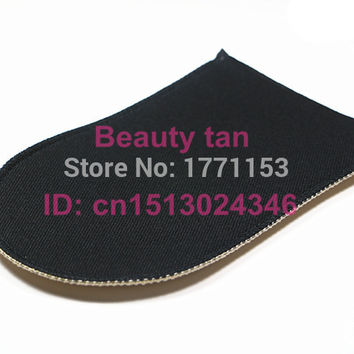 2pcs/lot Self Tan Mitt, Tan Applicator of Tanning Lotion, Spray Tan for Bronzer , Soft Velvet can be reusable