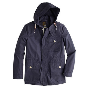 J.Crew Mens Wallace & Barnes Ventile Hooded Jacket