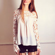 Mingle in Lace Top