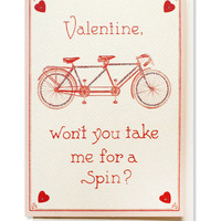 bicycle built for two card