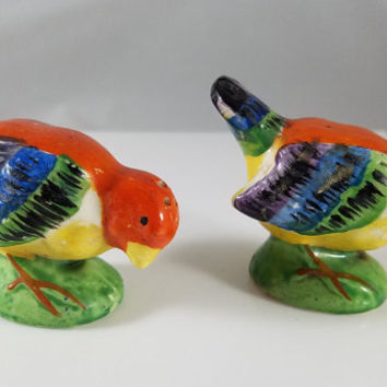 Bird Salt and Pepper Shakers (956)