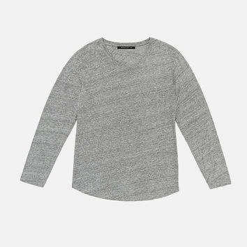 LS Curve U-Neck / Grey