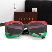 Gucci sunglass AA Classic Aviator Sunglasses, Polarized, 100% UV protection 2974244968 GG0083