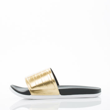 ADILETTE SC PLUS GOLD WOMENS