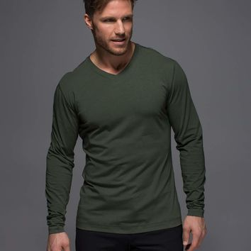 5 Year Basic Long Sleeve V