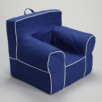 Blue Chair Cover for Foam Childrens Chair