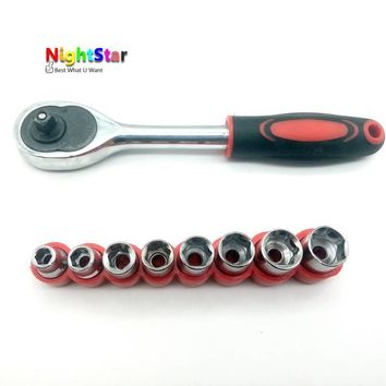 8pc 1/4 Inch Drive Hex Bit Socket Set Socket wrench