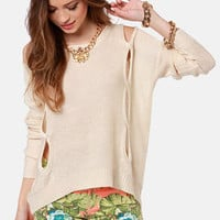 Such Sweet Nothings Cream Sweater