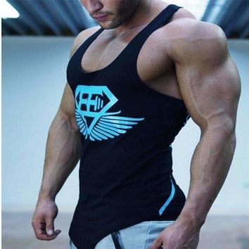 Body Engineers Mens Tank Tops Bodybuilding Vest Fitness Sleeveless Shirt Stringers Tank Tops Singlet Clothing