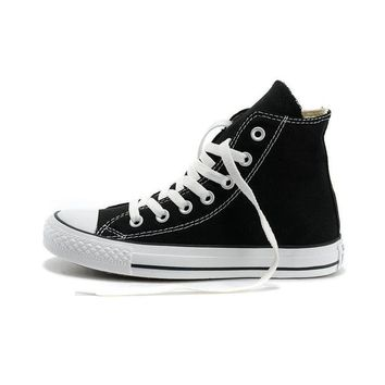 Original Converse Unisex Classic Canvas Skateboarding Shoes High top Sneakser