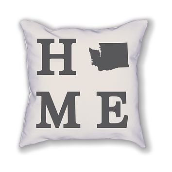 Washington Home State Pillow