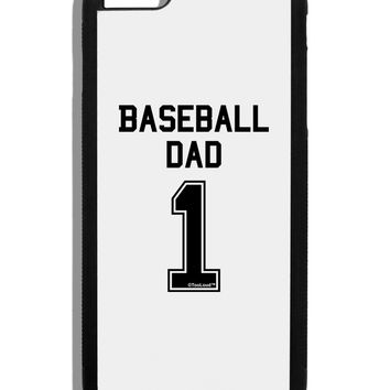 Baseball Dad Jersey Black Dauphin iPhone 6 Plus Cover by TooLoud