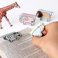 Kawaii Animal Magnetic Bookmarks With 0.8mm Highlighter