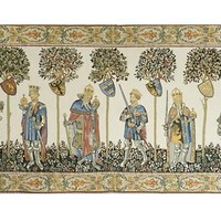Master of the Castle I Tapestry Wall Hanging