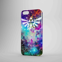 Zelda Triforce Galaxy Fox Fur Nebula Colour iPhone 5 Case