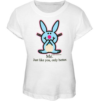 Happy Bunny - Me Only Better Girls Youth T-Shirt