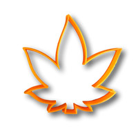 Marijuana Leaf Cookie Cutter