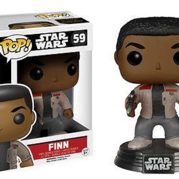 Funko Pop  Star Wars EP7 Vinyl Finn 6221
