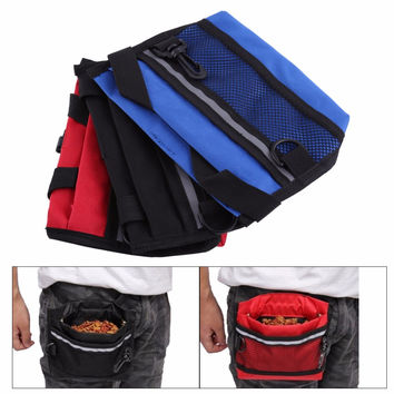 3 Colors Training Treat Bags Pet Training Treat Bag Pet Bait Dog Food Waist Pouch Dog Snack Bag New Arrival